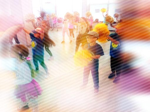 Taniec dla dzieci w Centrum
